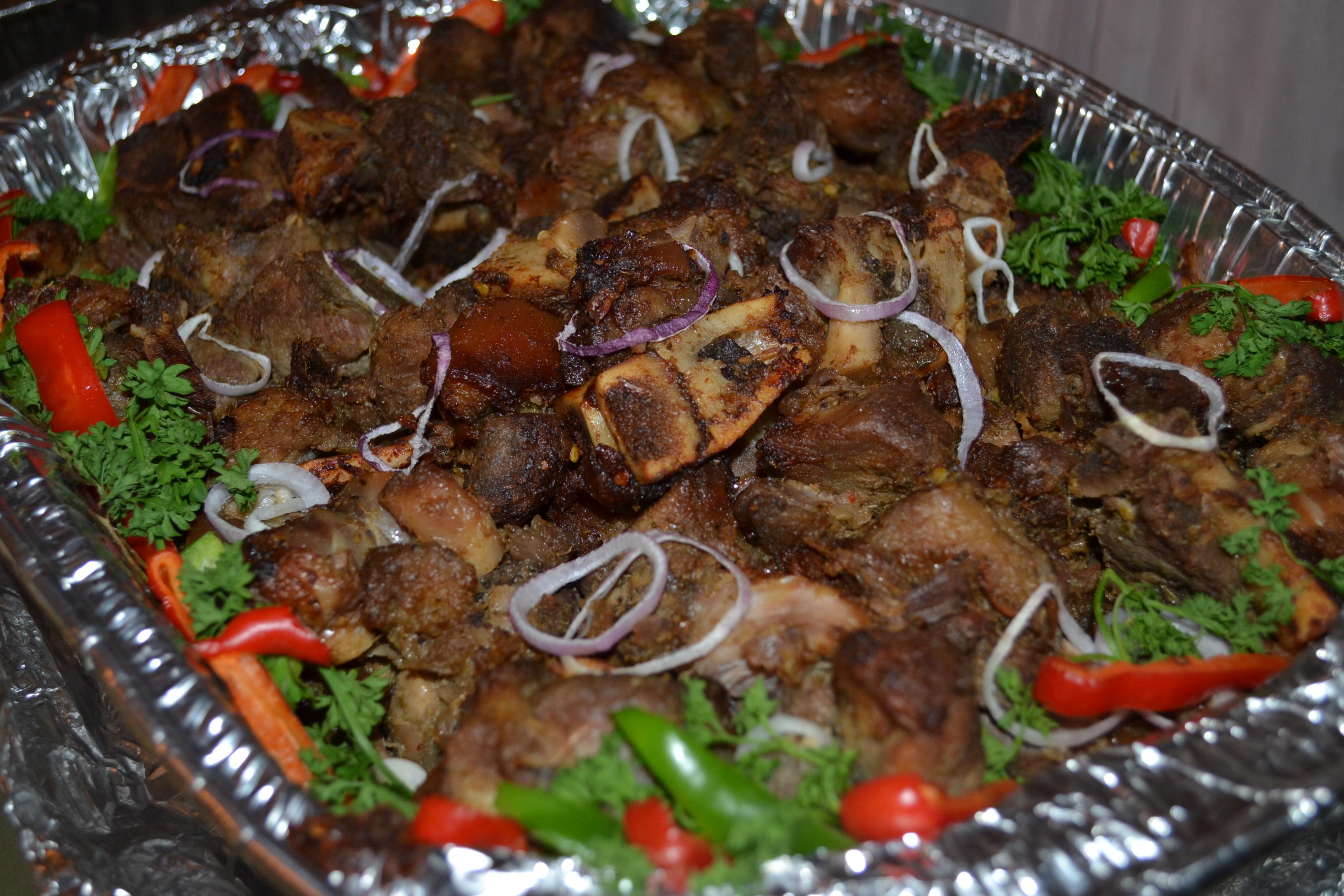 Haitian fried pork recipe